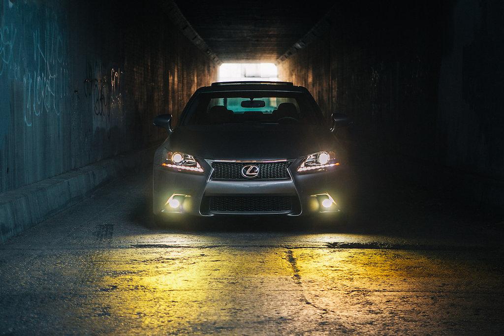 Lexus in Downtown LA