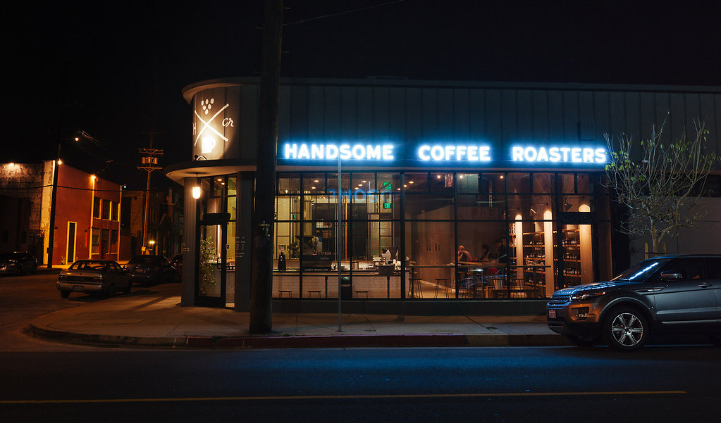 Range Rover at Handsome Coffee Roasters