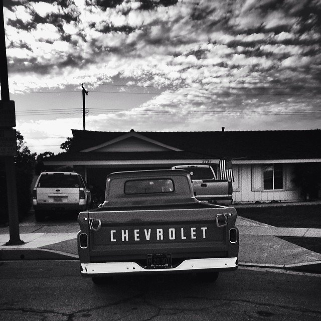 because it's a chevy. #chevy