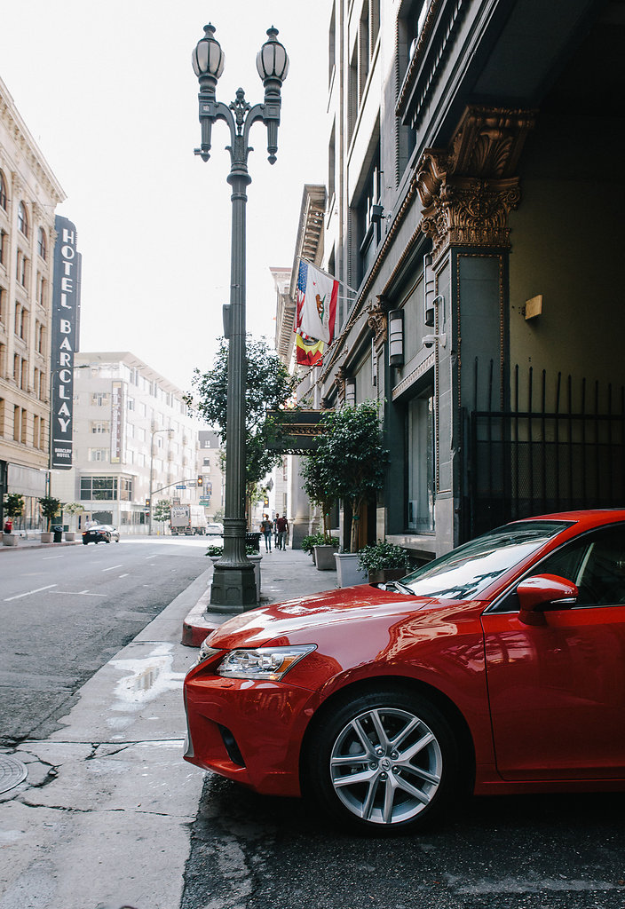 Lexus in Downtown LA